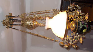 BRASS LAMP FROM ITALY!