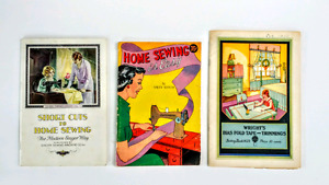 Three Vintages sewing books (1930's)