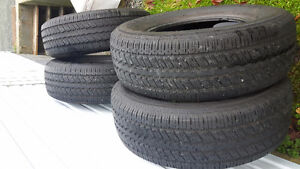 4 brand new all seasons. Used for not even one month. 98% tread St. John's Newfoundland image 1