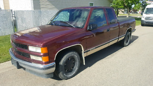 New price 97 Chevy Silverado extended cab 2wd