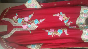 Pakistani Casual/Party Stitched Shalwar Kameez  Dresses