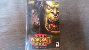 Warcraft III Reign Of Chaos game manual, 2002