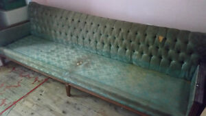 Antique Wooden Sofa and Chair