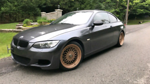 E92 BMW coupe trade with bike