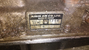 Volvo 240 AW70 Automatic Transmission