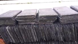 18 Terracotta Victorian Edwardian reclaimed  Ridge Tiles £5.00 each