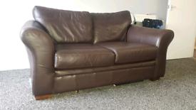2 seater next sofa & recliner chair