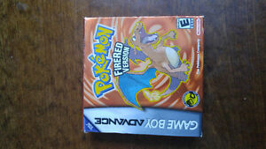 Pokemon FireRed complete in box