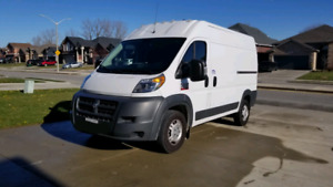 2017 Dodge Ram Promaster 2500 136 inch wheel base