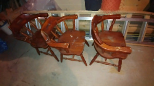 Pub style chairs