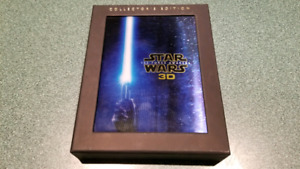 STAR WARS THE FORCE AWAKENS 3D BLURAY COLLECTION LIKE NEW