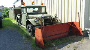 1954 Dodge Power Wagon Army Military PAS D'EMAILS