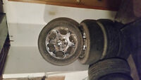 20 inch Ford rims with rubber