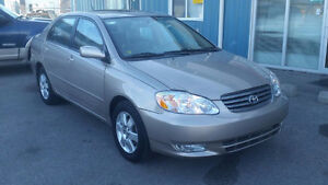 2004 Toyota Corolla LE Sedan LOW LOW KMS (AIRDRIE)