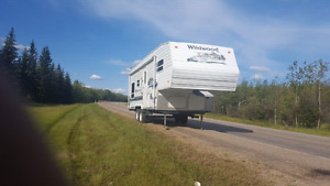 Rv 2004,  24 feet fith weel $ 8000 or best offer 5th
