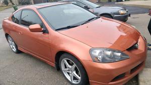 2005 Acura RSX Type-S (Blaze Orange Metallic) Low Price!