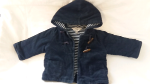 Bebe quilted corduroy  jacket 6mths Balaclava Port Phillip Preview