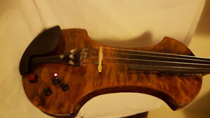 Electric violin with octave effects(built-in )