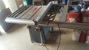 "Contractor 10"" Craftsman Table Saw"