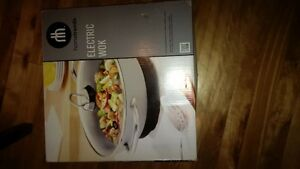 electric wok perfect condition West Island Greater Montréal image 1