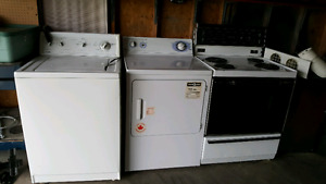 Washer dryer and oven