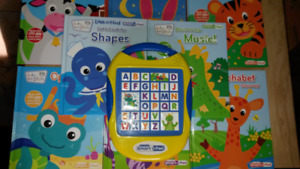 Baby Einstein Look and Find Books and Smart Pad