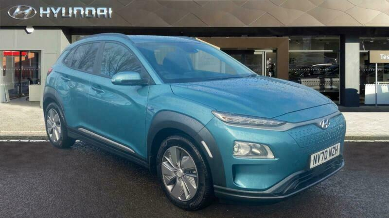 2020 Hyundai Kona 150kW Premium 64kWh 5dr Auto [10.5kW Charger] Electric Hatchba