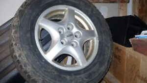 Used Tires & Rims from 2002 Chev Venture Van