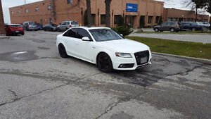 White Audi S4 Fully Loaded, $22,500, No accidents, Super Charged
