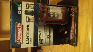 new in box Coleman Duo Recgargeable LED Lantern