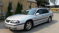 02 Impala LS 4 dr. Drives well 238 kms.leather $2,850  220-4800
