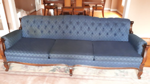 Victoriana Tufted Couch and Chair