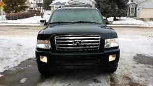 2004 Black Infiniti QX56 fully loaded SUV A1 condition $9500 obo