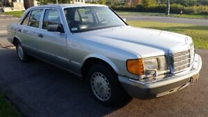 1987 Mercedes-Benz S-Class 560 SEL- Parting out