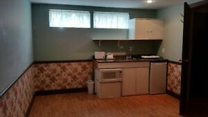 Haysboro SW with kitchenette, big, bright, room for bachelor