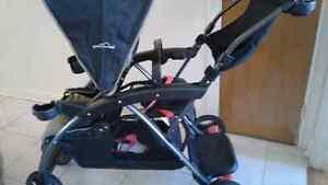 Poussette double  stroller Eddy Bauer perfect condition!