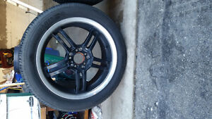 17 INCH SACCHI SUMMER TIRES AND WHEELS. Cambridge Kitchener Area image 8