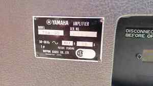 Vintage Yamaha combo w/powered cab TRADE West Island Greater Montréal image 3