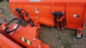 SKID STEER SNOW BLADES, READY TO DELIVER