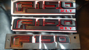 2015/17 - FORD F150   XLT OR LARIAT BADGES - $90