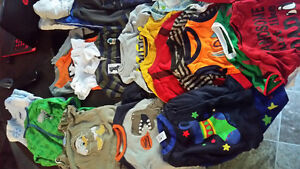 40 peices of boys clothes 1-2years