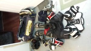 Boys hockey gear - full set