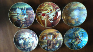 Collectors plates, Bradford exchange