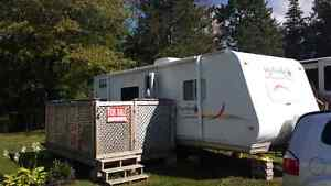 "2005 Jayco Jayfeather on an ""in demand"" seasonal site"