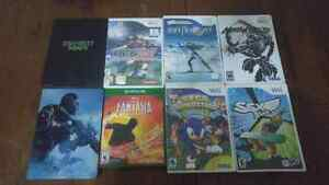 Video games (Wii, Xbox 360, Xbox one)