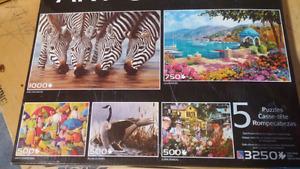art gallery 3250 piece 5 puzzle