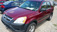 2004 Honda CR-V SUV Automatic Certified E-tested CRV