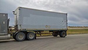 26' single axle van trailer with 20 kilowatt gen set