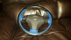 Custom Mazda Door Panels and Steering Wheel