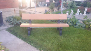 6ft Kirby built bench